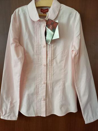 НОВАЯ блузка для девочки в школу