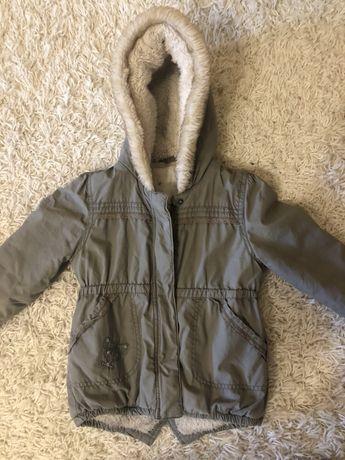 Демисезонная куртка парка для девочки 86 размер 2-3 года