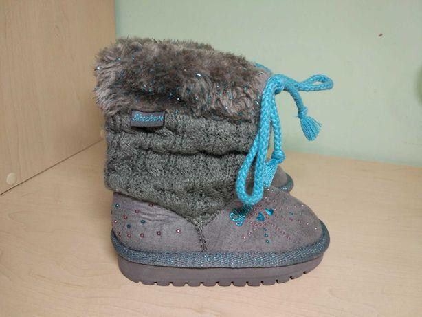 Ботинки сапоги угг Skechers для девочки