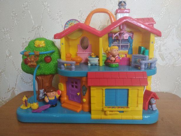 Детский развивающий игрушечный домик