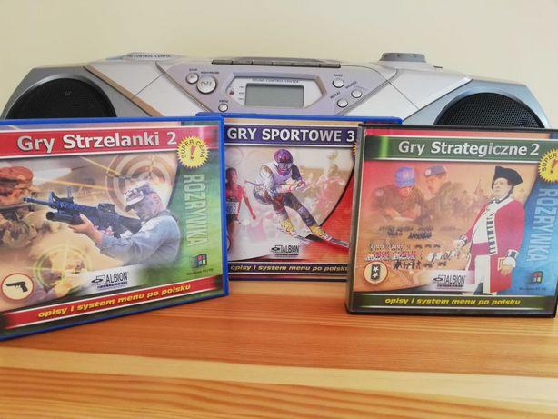 Gry sportowe, strzelaki, strategiczne PC Win 95/98