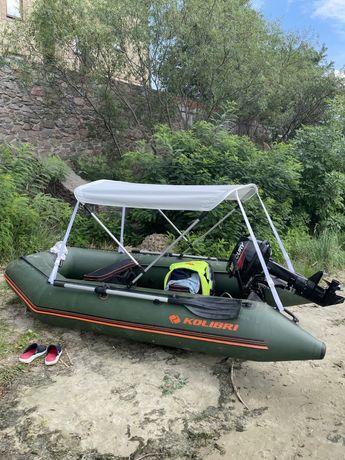 Надувна лодка Колібрі 330D