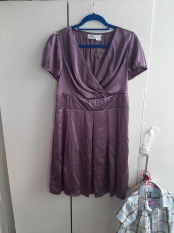 Sukienka fioletowa rozm. 44