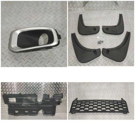 Jeep Renegade Накладка туманки, брызговики, решетка, защита