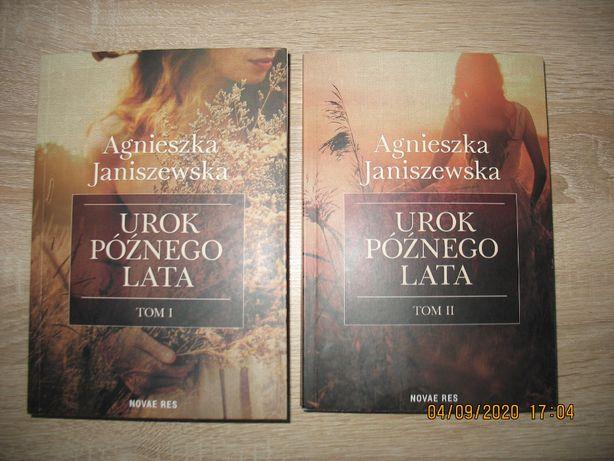 Urok późnego lata Agnieszka Janiszewska Tom 1 i 2