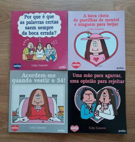 4 Livros Cathy Guisewite (portes incluídos)