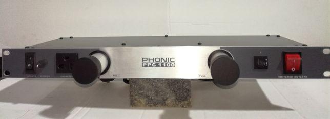 Painel distribuição Phonic PPC1100 novo de exposição