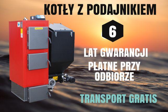 200 m2 PIECE 25 kW na Ekogroszek Kotły z PODAJNIKIEM Kocioł 21 23 24