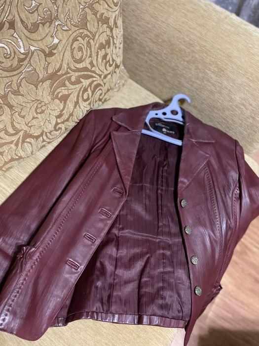 Кожаный пиджак Макеевка - изображение 1