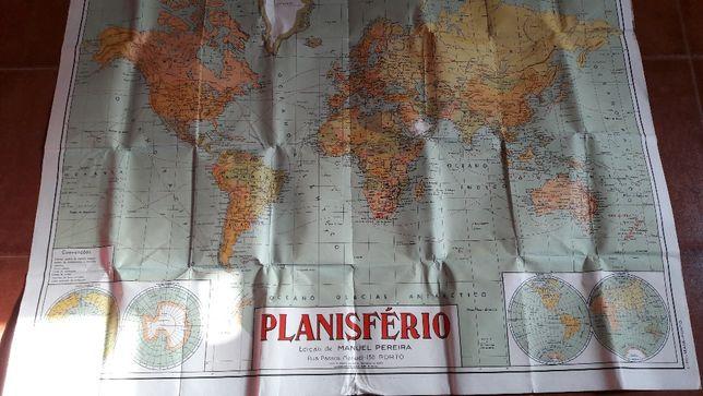 Cartaz do Planisfério de 1961