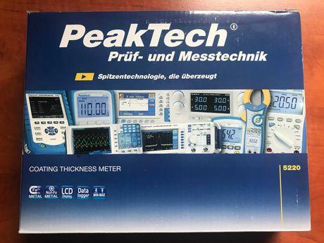 Miernik grubości powłok PeakTech 5220