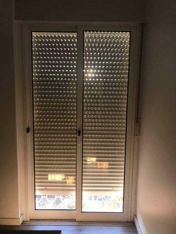 Porta / janela em aluminio 1,18x2,00
