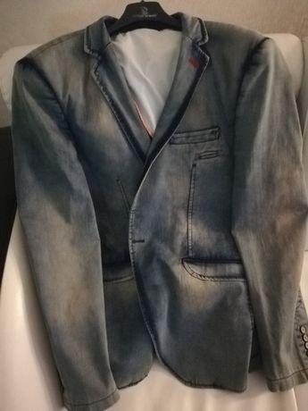 пиджак джинсовый (новый)