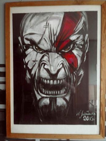 Obraz Kratos god of war