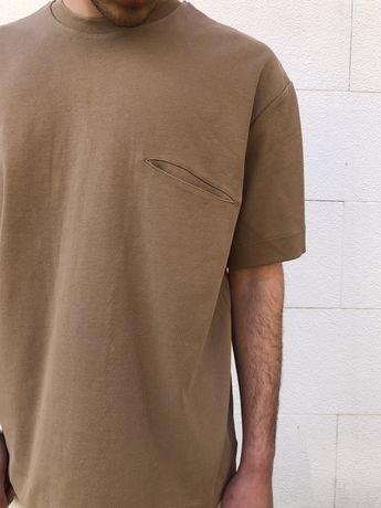 T-shirt Zara oversize