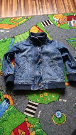kurtka jeans chlopieca