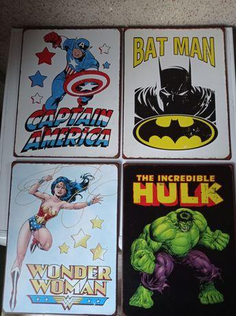 Chapas decorativas Marvel Collection