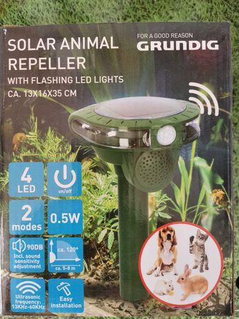 Ultradźwiękowy solarny odstraszacz zwierząt Grundig likwidacja sklepu