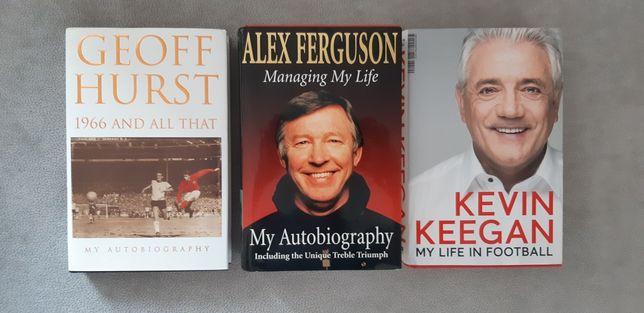 Ferguson, Hurst, Keegan biografia PO ANGIELSKU angielski football book