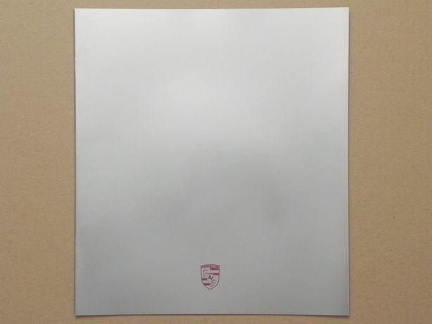 Prospekt - PORSCHE - 911 / 928 / 924 / 944 . 1987 r