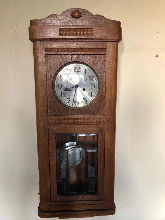 Zegar wiszący antyk Gustav Becker Łódź - image 1