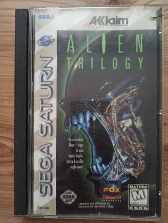 "Gra ""Alien Trilogy"" SEGA SATURN NTSC"