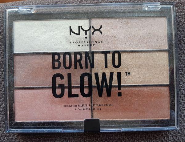 NYX rozświetlacz paleta