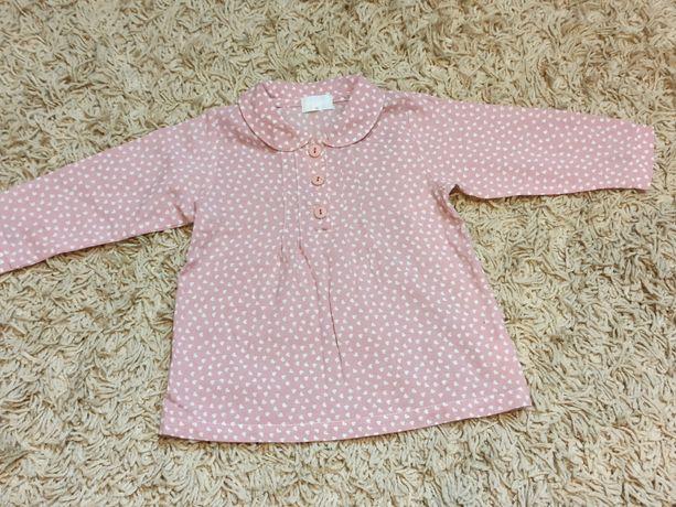 Bluzka/koszula dla dziewczynki Pinokio 80