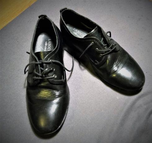 Buty chłopięce komunijne wizytowe czarne Lasocki rozmiar 32