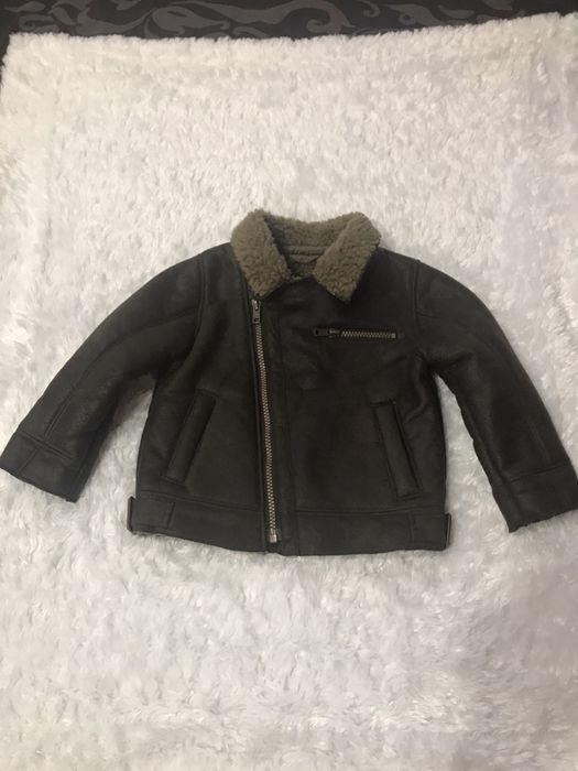 Куртка-дублянка ,косуха на маленького модника1,5-2 рочків 92 см-рост Ровно - изображение 1