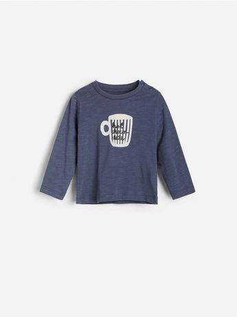 Лонгслив реглан футболка на длинный рукав reserved, как mango zara nex