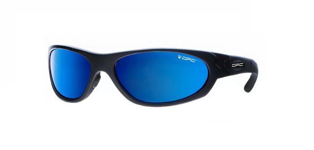 Okulary przeciwsłoneczne OPC MILITARY MARINES Matt Black Blue REVO