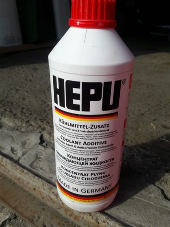 Антифриз тосол хепу концентрат-80 HEPU P999-12 червоний 1,5л