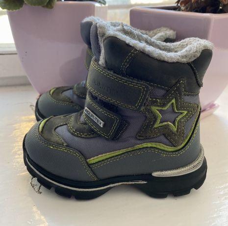 Дитячі чобітки зимові, ddstep зимние сапожки для мальчика, ботинки