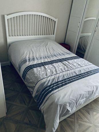 Łóżko TYSSEDAL IKEA 140x200 z dnem w zestawie. Okazja!