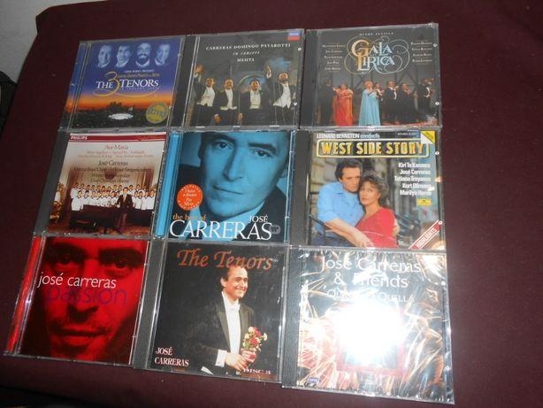 José Carreras-Lote de 9 CDS-3 euros cada artigo
