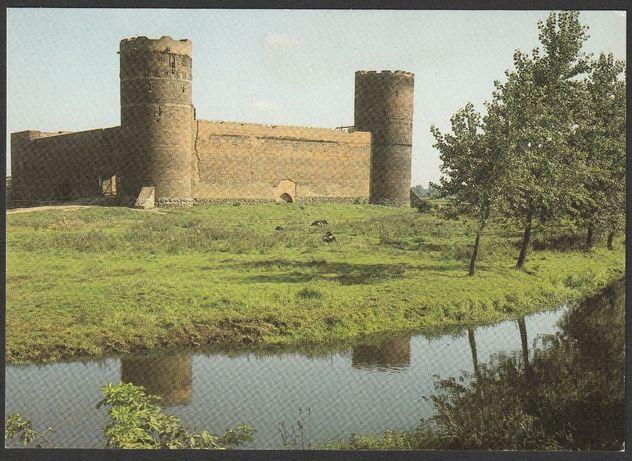 pocztówka - Ciechanów 1986 - zamek książąt mazowieckich