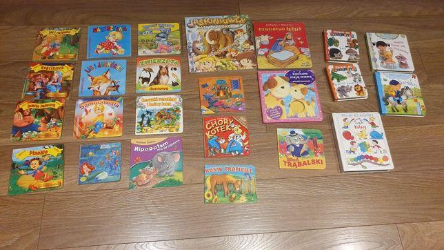 Książeczki dla najmłodszych 24 szt