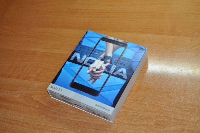 Мобильный телефон Nokia 3.1 Black