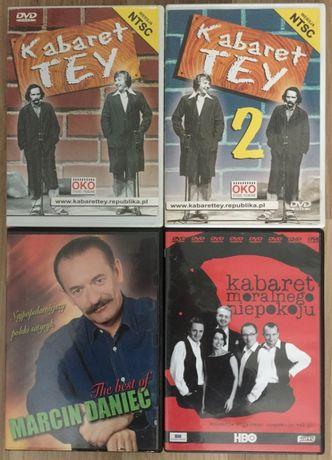 DVD Kabarety Wyprzedaż Daniec + TEY + Kabaret Moralnego Niepokoju