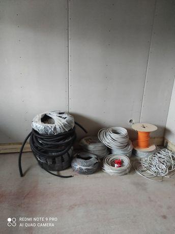 Przewody kable elektryczne 3x1,5 i 3x 2,5 5x 2,5