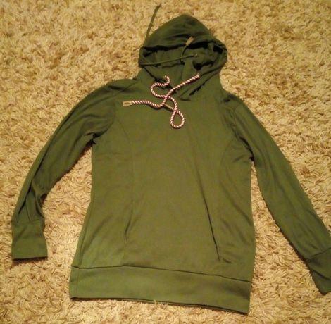 Bluza dresowa kolor wojskowy rozmiar M