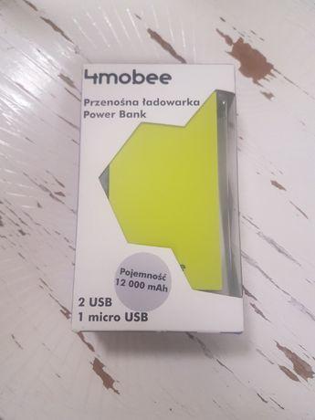 NOWY 4MOBEE Powerbank H3 12000 mAh zielony