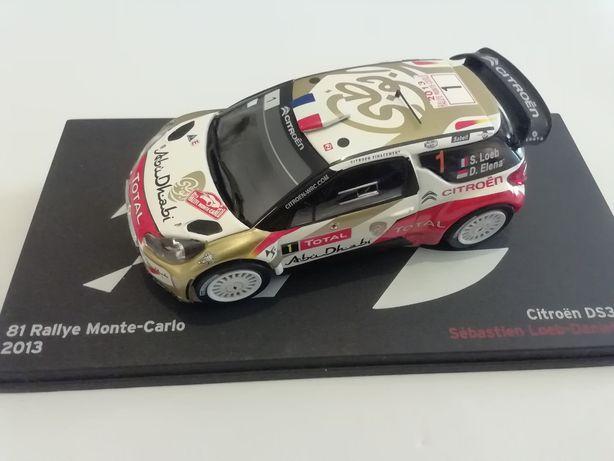 1/43 Citroën DS3 WRC - S. Loeb/D. Elena | 2013 (Ixo/Altaya)