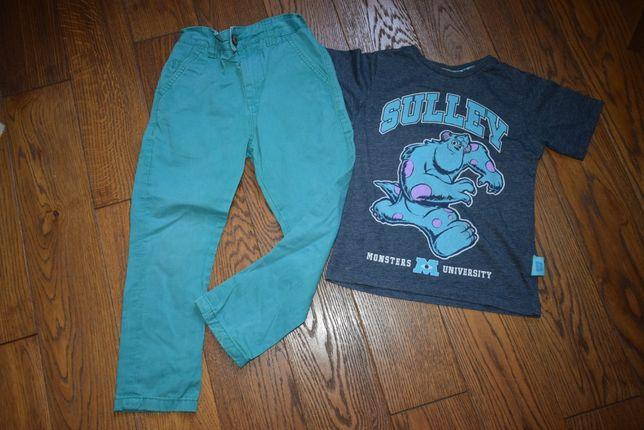 Брюки Next мальчику на 5 лет и футболка в подарок