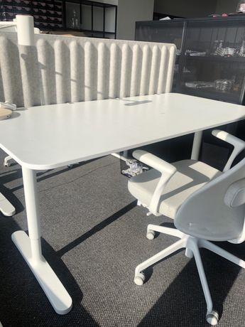 Meble biurowe, krzeslo biurowe, biurko, lampa