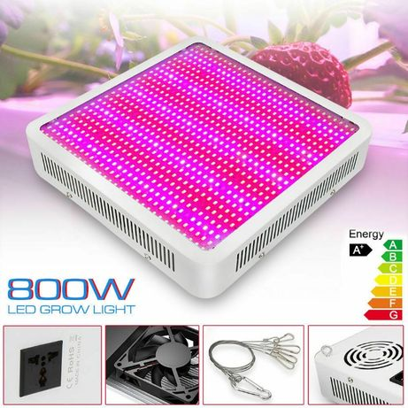 Painel Full Spectrum 800W LED Grow Luz para Plantas Interior