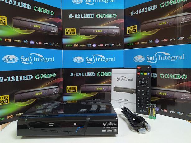 Комбинированный DVB-T2/S2 Mpeg4 Sat-Integral S-1311 Combo приставка