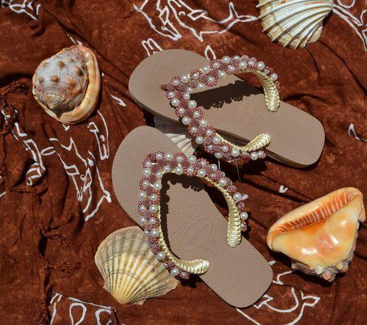 Sandálias Havainas decoradas modelo BHD03