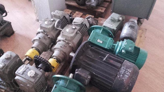 Silniki, reduktory z silnikiem, reduktory